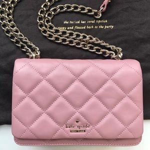 Kate Spade Pink Clutch/Shoulder bag/Crossbody bag